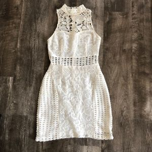 White Lace Dress - Perfect for Bachelorette Party